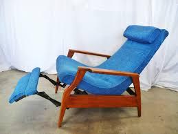 mid century modern recliner leather mid century modern recliner