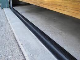 garage door threshold installation