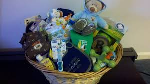 baby shower baskets photo baby shower clothes basket image