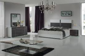 Modern White Queen Bed Nova Domus Corrado Italian Modern White U0026 Grey Bedroom Set