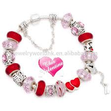 european bead charm bracelet images Free shipping valentines day gift hot sell fashion european jpg