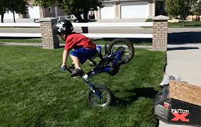 be a hero and build your kid a proper bike jump the