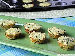 Easy Christmas Appetizers Finger Foods Mini Quinoa Zucchini Cheese Bites