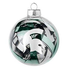 michigan state ornaments michigan state spartans