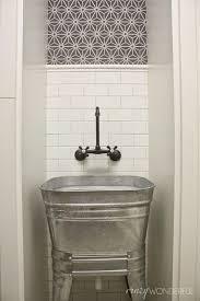 laundry room sink ideas galvanized wash tub laundry room sink laundry and mudroom ideas