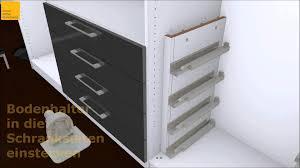 Schlafzimmerschrank Einbau Innenliegende Schubkästen Einbauen Wmv Youtube