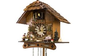 8 Day Cuckoo Clock Black Forest House Cuckoo Clock With Musicians And Music