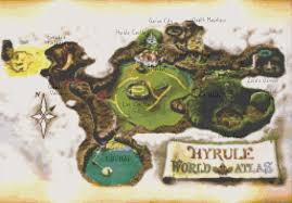 Twilight Princess Map Map Of Hyrule My Blog