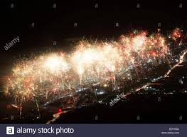 new year s celebrations live fireworks explode parangtritis during new year s