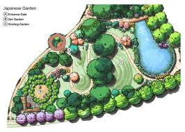 Japanese Garden Layout Gateway Gardens In Greensboro Carolina Greensboro