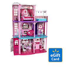 Barbie Hello Dreamhouse Walmart Com by Barbie 3 Story Dreamhouse U0026 20 Walmart Egift Card Only 139 00