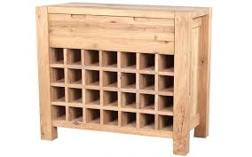 wine rack oak wine rack furniture rustic solid unfinished
