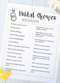interactive bridal shower free printable bridal shower squared