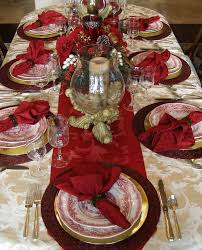 Christmas Decorating Ideas For Dining Room Table by 50 Stunning Christmas Table Settings Christmas Party Table