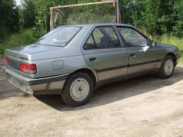 1988 Peugeot 405 Photos 1 6 Ff Manual For Sale