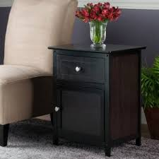 leick 10030med favorite finds shaker cabinet end end tables side tables with storage hayneedle