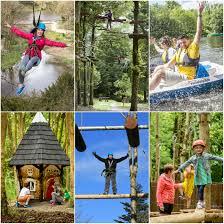 castlecomer discovery park kilkenny santa train elf and fairy