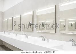 Commercial Bathroom Mirrors by Bathroom Mirror Stock Images Royalty Free Images U0026 Vectors