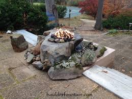 Lava Rock For Fire Pit by Fountain Fire Pit Welcome To Boulder Fire Pits