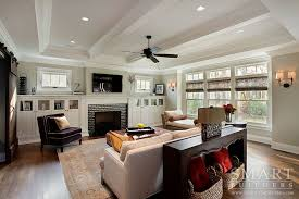 Craftsman Style Homes Interior Contemporary Craftsman Style Custom Home U2022 Family Room U2022 Smart