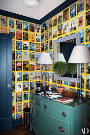 York Wallcoverings Home Design Center by 18 Creative Wall Coverings That Put Wallpaper Paint And Tile To