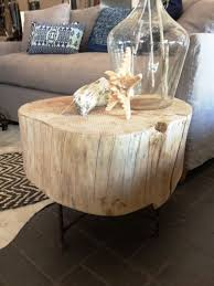 furniture trunk end tables stump end table coffee table trunks