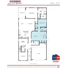 Builder Floor Plans by Multigen Plan 2206 Deer Trail Ii Conroe Texas D R Horton
