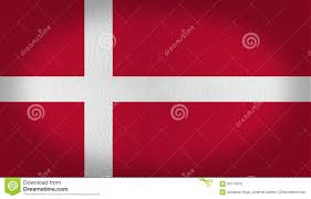 Flag White With Red Cross Denmark Flag Stock Illustration Illustration Of White 93115518