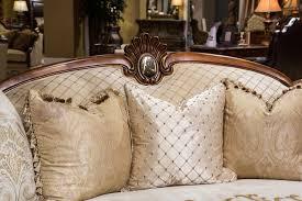 Aico Sofa Homey Design Hd 5339 3pcs Riverview Wood Trim Sofa Loveseat Chair