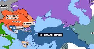 Ottoman Empire Serbia Russo Turkish War Historical Atlas Of Europe 2 January 1878