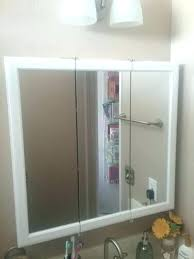 tri view medicine cabinet mirror replacement tri fold medicine cabinet mirror s pegasus tri view beveled mirrored