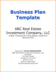 Business Plan Template Restaurant 4 Cover Page Of Business Plan Quote Templates