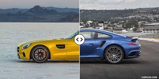 mercedes amg turbo amg gt s vs porsche 911 turbo