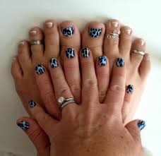blue leopard u0026 french tips nailart jamberry nail shields u2026 flickr