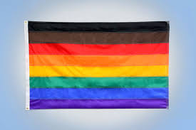 Blue And Black Striped Flag Philadelphias 8 Stripe Rainbow Pride Flag 3 U0027 X 5 U0027