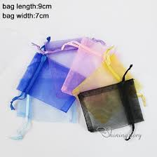small organza bags wholesale christmas wedding voile gift bag butterfly organza bag