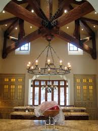 fabulous cross truss ceiling in this candelaria design ceiling