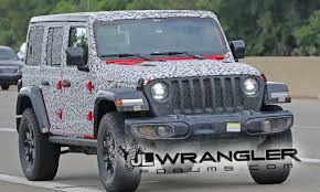 jeep wrangler forum 2018 jeep wrangler jl undresses to reveal production design