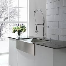 Kraus Kitchen Faucets Inspirations And German Faucet Brands Images Kraus Commercial Style Single Handle Kitchen Faucet With Pull Down