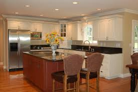Chef Kitchen Ideas by Kitchen Cabinets Kitchens With Dark Tile Floors And White