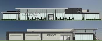 mercedes benz barrie car dealership renovation u2013 s r architecture