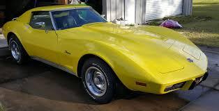 1976 corvette yellow f s 1976 corvette stingray l 48 10 900 corvetteforum