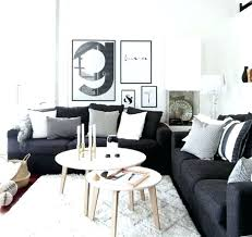 idee deco salon canape noir decoration salon noir blanc homewreckrco decoration salon