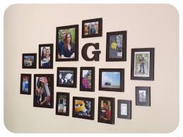 pleasant idea wall hanging photo frames designs a simple design