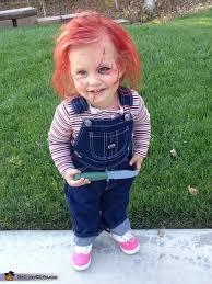 Homemade Baby Halloween Costume Chucky Baby Homemade Halloween Costume