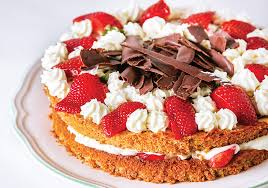 a beautiful versatile gluten free almond cake for mother u0027s day