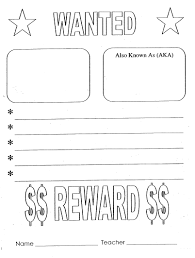 number wanted poster focus on math