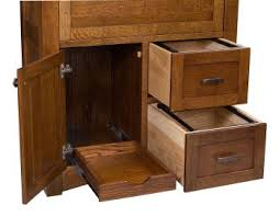 Desk With Filing Cabinet Drawer Solid Wood Desks Countryside Amish Furniture
