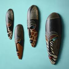 aliexpress com buy creative africa portraits resin mask wall