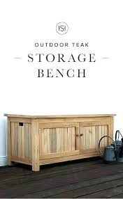 teak outdoor storage cabinet teak outdoor storage bench 4 ft or 5 throughout ideas best garden
